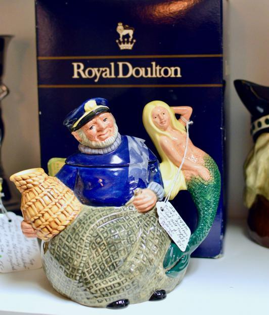 "Royal Doulton ""Old Salt Teapot"" w/ box C. 1998 - England"