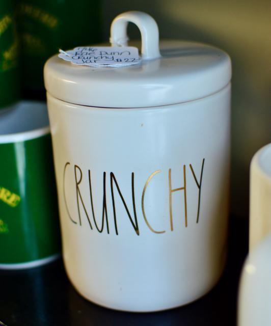Rae Dunn crunchy jar