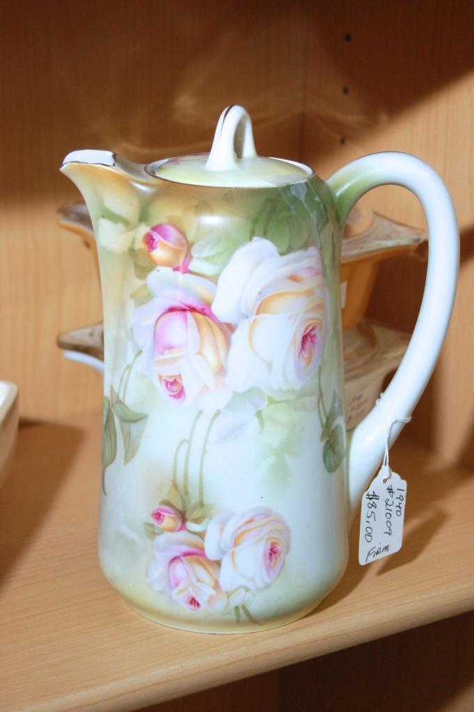 Beautiful Floral Chocolate Pot