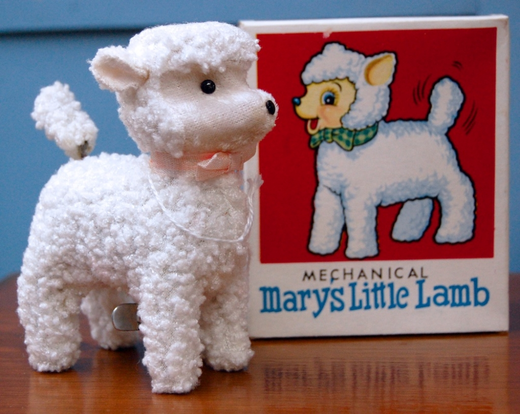 Mechanical Mary's Little Lamb - mint in box