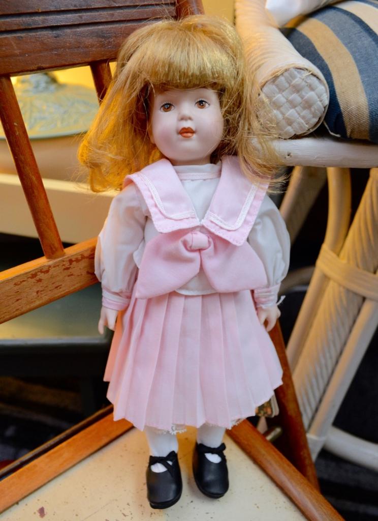 Porcelain Doll in Pink