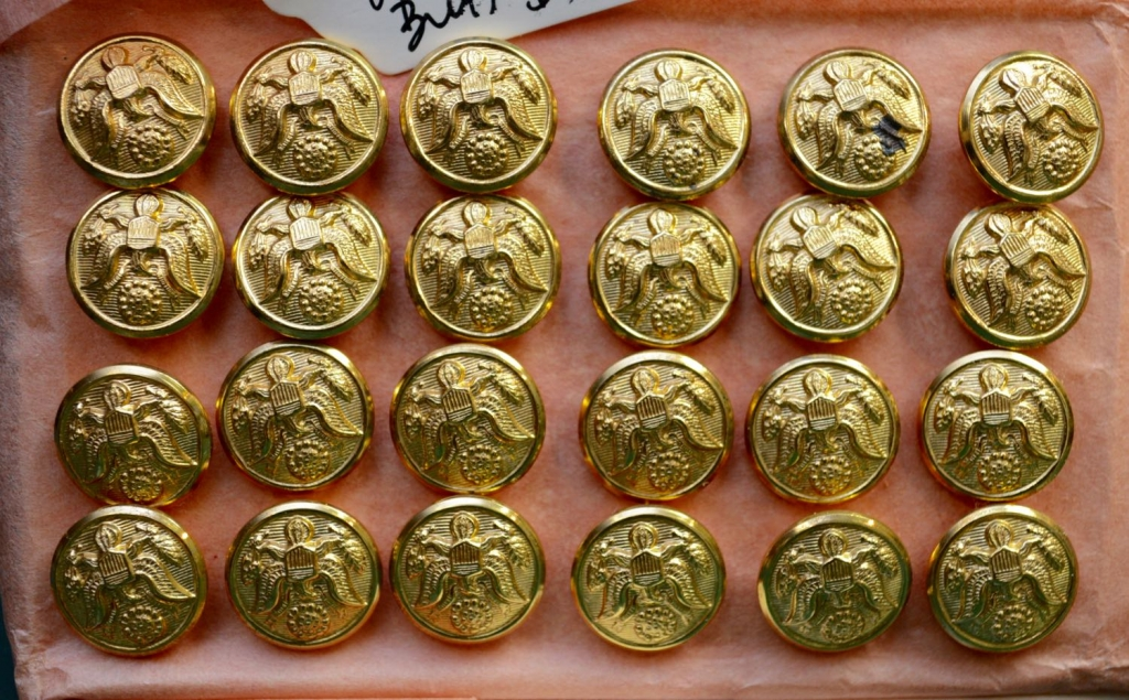 Set of 24 WWII Uniform Buttons