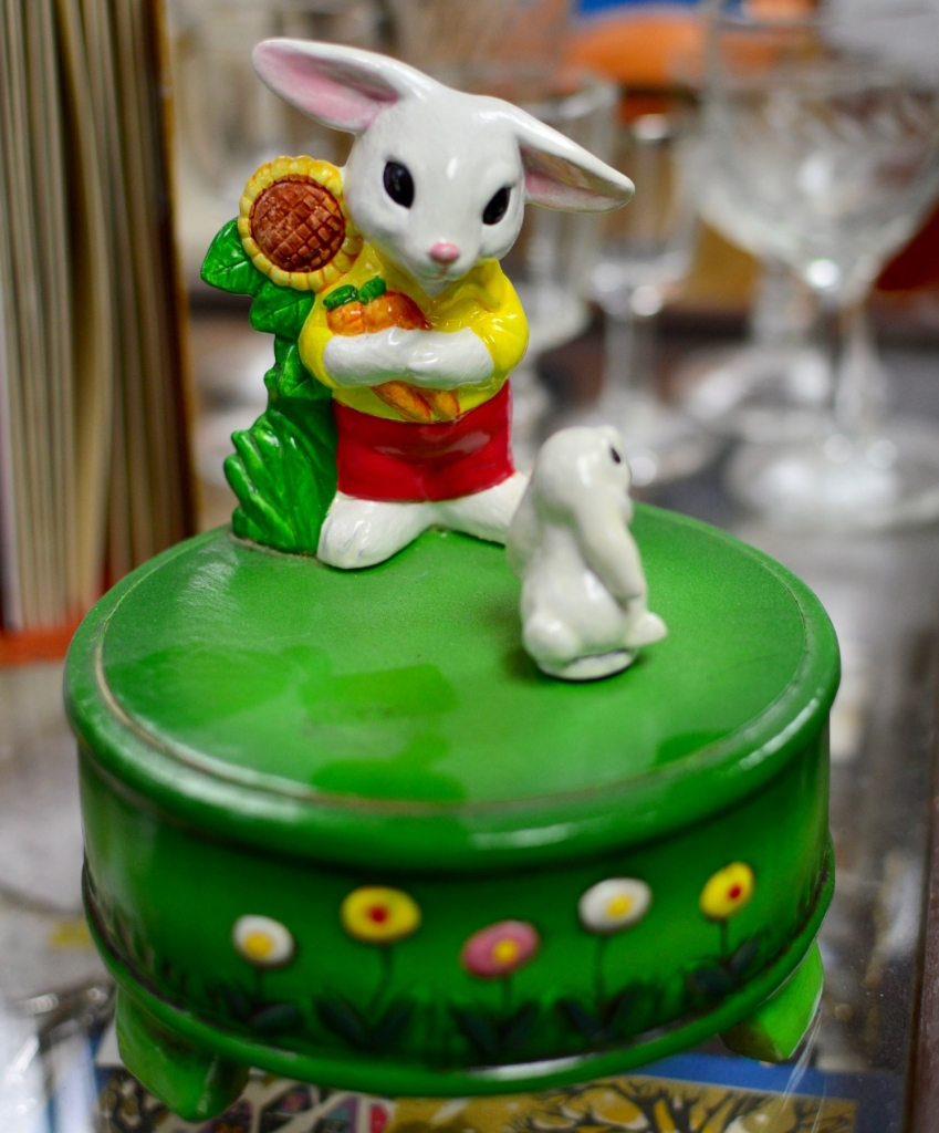 Rabbit Dancing Music Box