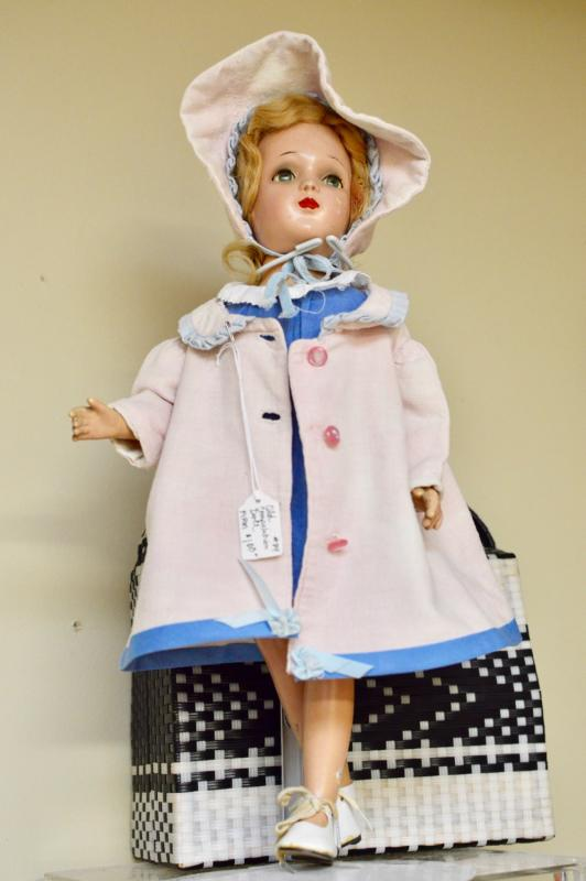 Old composition doll