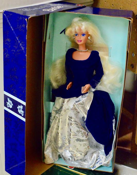 Avon winter velvet Barbie