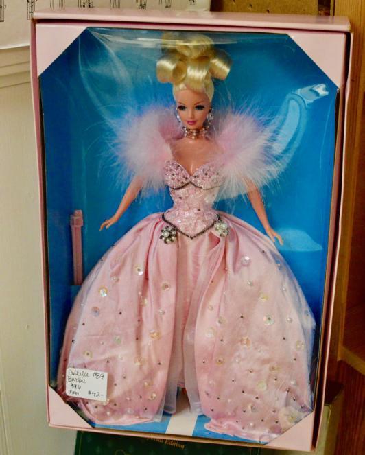 Pink lace Barbie