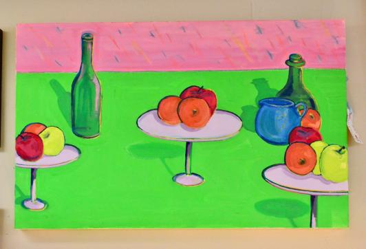 Fruit & wine painting