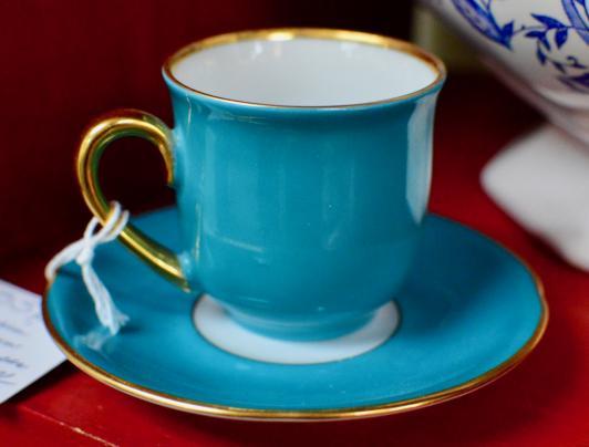 Bavarian German cup & saucer