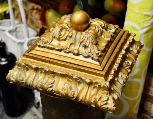 Gold fancy box