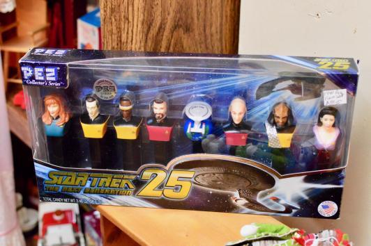 Star Trek Pez dispenser set